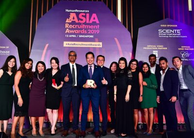 Asia Recruitment Awards 2019 gala dinner and celebration 10