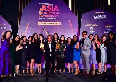 Asia Recruitment Awards 2019 gala dinner and celebration 4