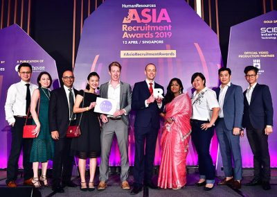 Asia Recruitment Awards 2019 gala dinner and celebration 6