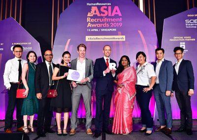 Asia Recruitment Awards 2019 gala dinner and celebration 6