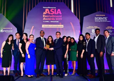 Asia Recruitment Awards 2019 gala dinner and celebration 8